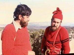 Gabriel Balcells i Ramon Reynal (Foto cortesia de Manel Punsola). Any 1974