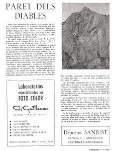 Crònica de la revista Cordada