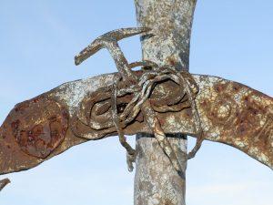 Detall de la creu (Foto: Jaume)