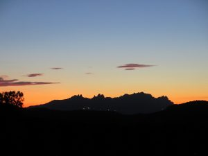 Preciosa posta de sol