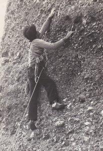 Manolo López obrint la via al 1981