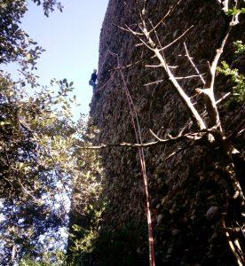 Al flanqueig de l'Anglada-Muñoz (Foto: Edu)