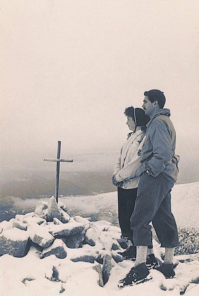 Jaume Ramon i Montserrat Vidal al Puigpedrós (1957)