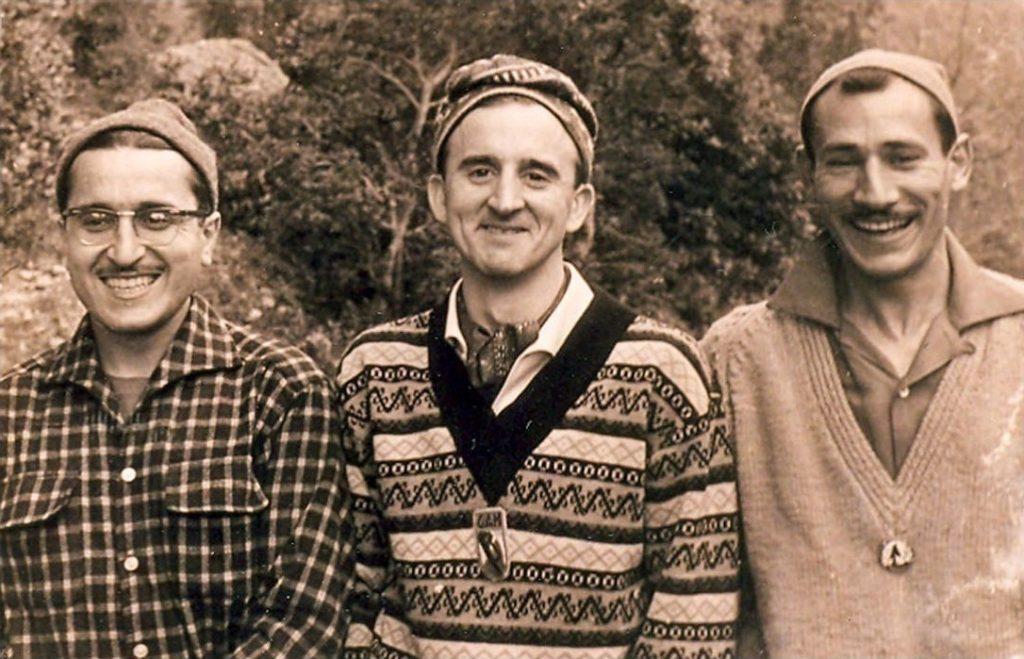 Francesc Guillamón, Josep M. Anglada i Jordi Pons als anys 60