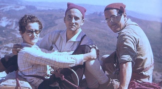 Eli Vergés, Josep M. Anglada i Francesc Guillamón a la Mitra (any 1962)