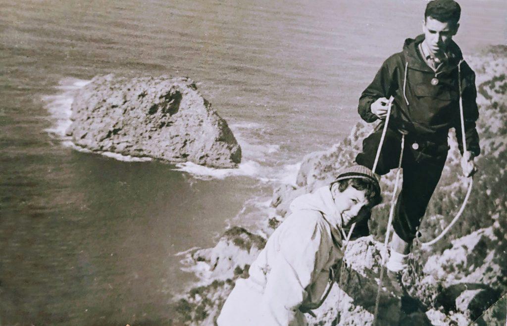 Penyal Bernat de s'Illeta (Mallorca) amb Isabel Bas