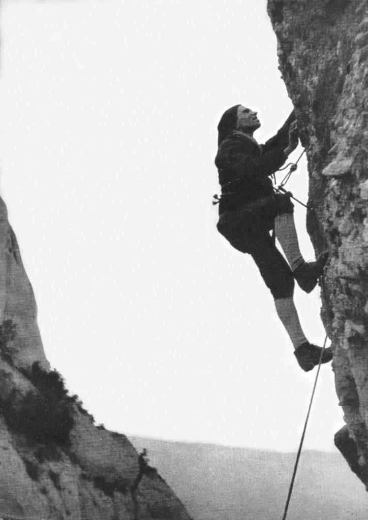 Normal a la Talaieta d'en Barbé, any 1962 (Foto: José Mª Soler)