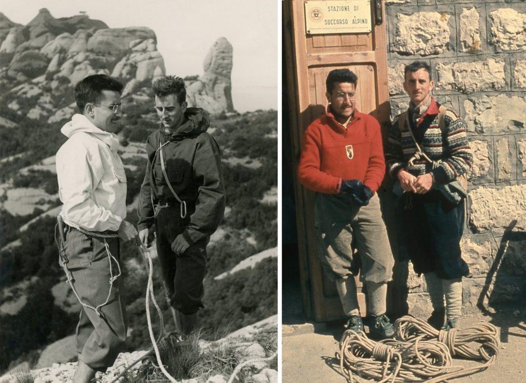 Paquito Guillamón i Josep M. Anglada als anys 50