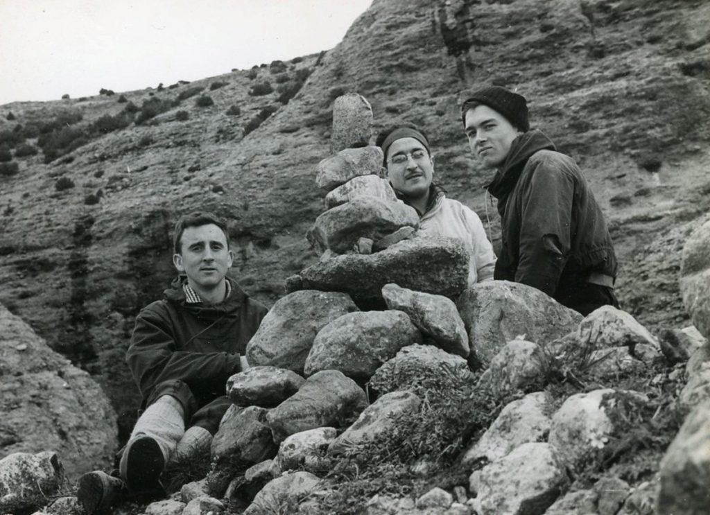 Obertura de l'Anglada-Cerdà-Guillamón al Mallo Cuchillo de Riglos (1958)