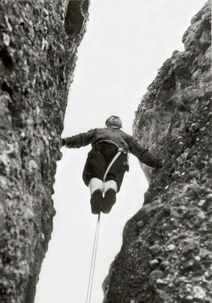 Josep Alaix al Puro de la Vall (Foto: Arxiu d'Eduard Navarro)