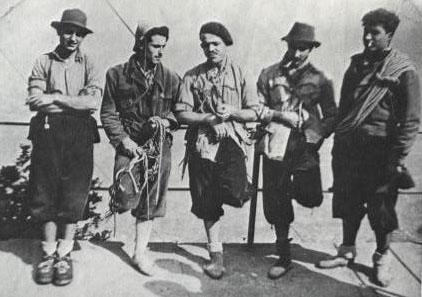 J. Camarasa, Ll. Coromines, J. Alaix, J. Camp i F. Izquierdo (1948)