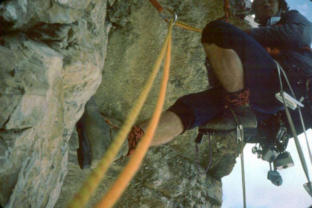1979 (Dolomites). Al Pilastro de la Tofana di Rozes