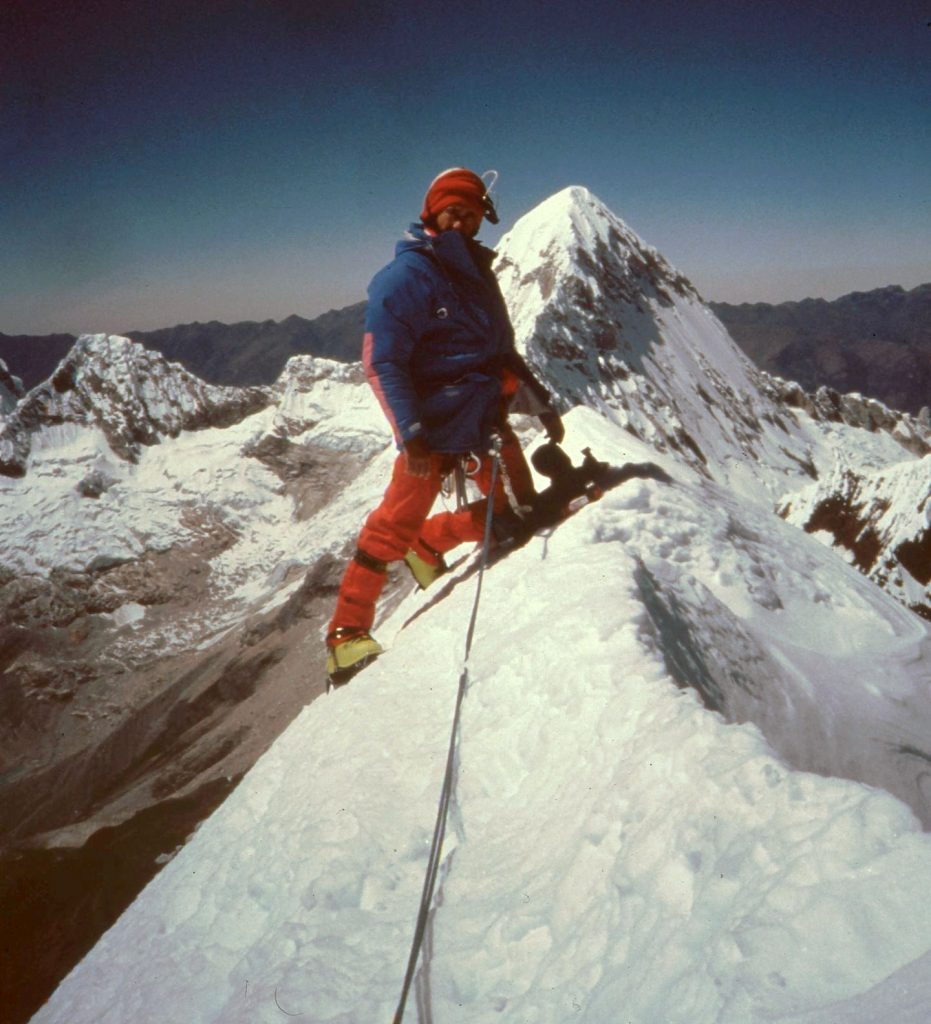 1990 (Andes). Al Nevado Quitaraju 6028m