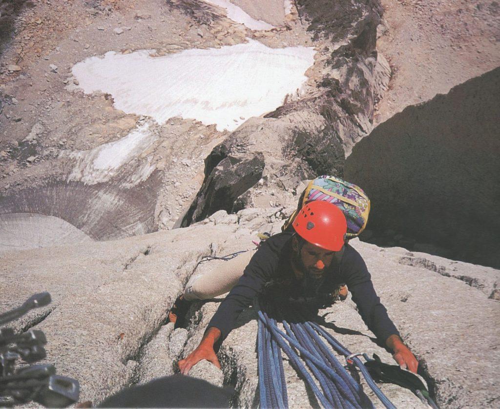 1997 (Bugaboos). Manel Solís a la Beckey Chouinard