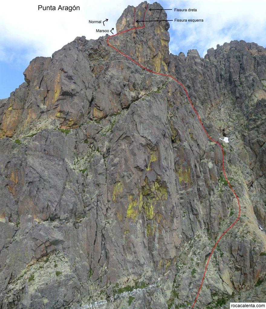 Ascensió a la Punta Aragón