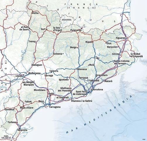 Catalunya (visor ICGC)
