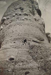 Foto de l'obertura a l'any 1967, cortesia de Joan Miquel Dalmau