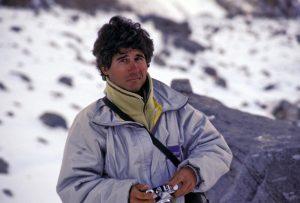 Jordi Anglès (Foto cortesia de Jordi Canyameres). Expedició al K2 de 1993