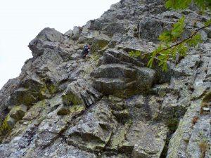 Superant el mur vertical